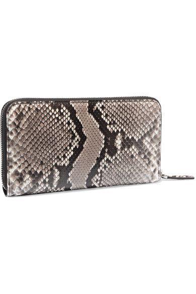 10522e50965 Fendi - Monster Eyes Python Continental Wallet - Snake print ...