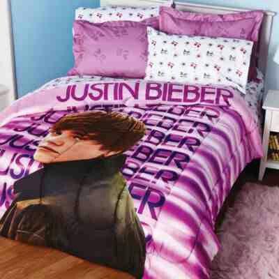 Justin Bieber Bed Set With Images Comforter Sets Cute Bedroom