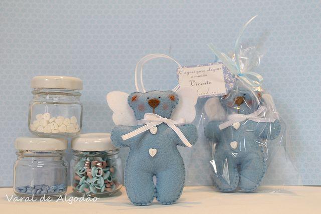 E mais ursinhos... by ✿ Varal de Algodão ✿- Elis, via Flickr