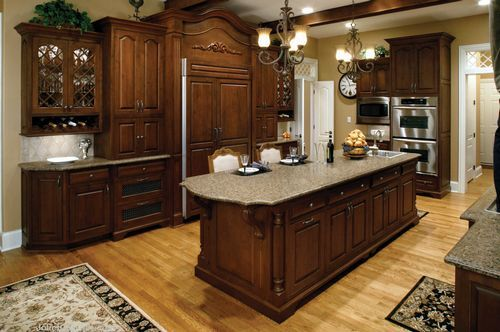 colonial kitchen designs custom colonial kitchen cabinets home decorating ideas 2306