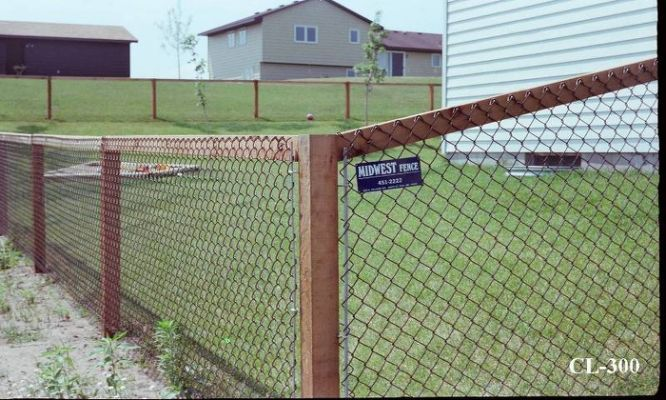 California Style Chain Link Fences