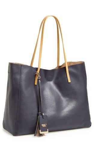 POVERTY FLATS by rian 'Colorful' Faux Leather Shopper | No