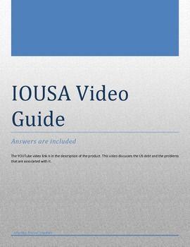 Iousa Video Guide And Answer Key  Bush Presidency