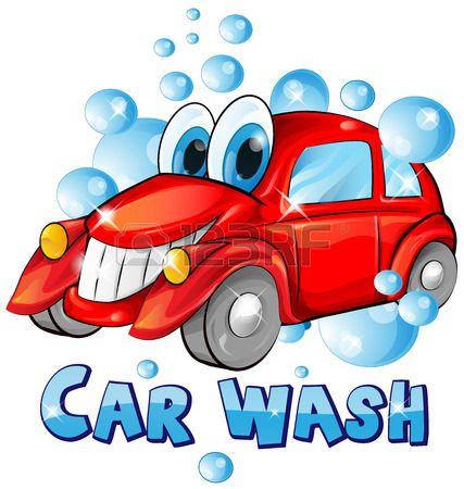 Stock Vector Kids And Parenting Car Wash Cartoon Car