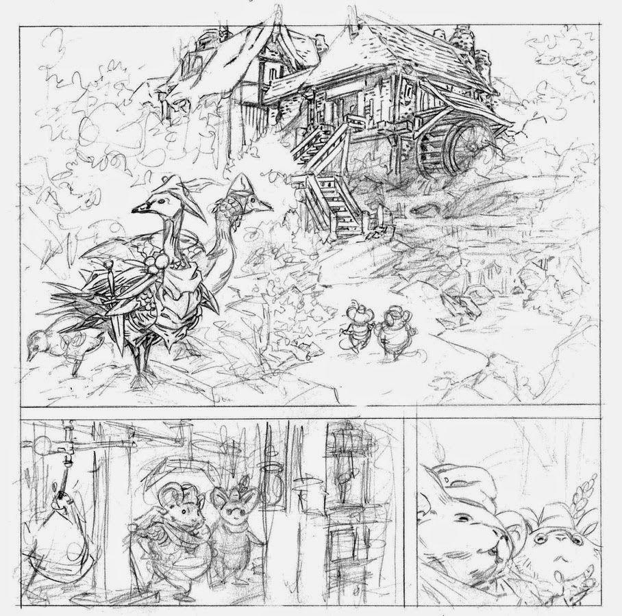 David Petersen\'s Blog: development | Storyboards | Pinterest