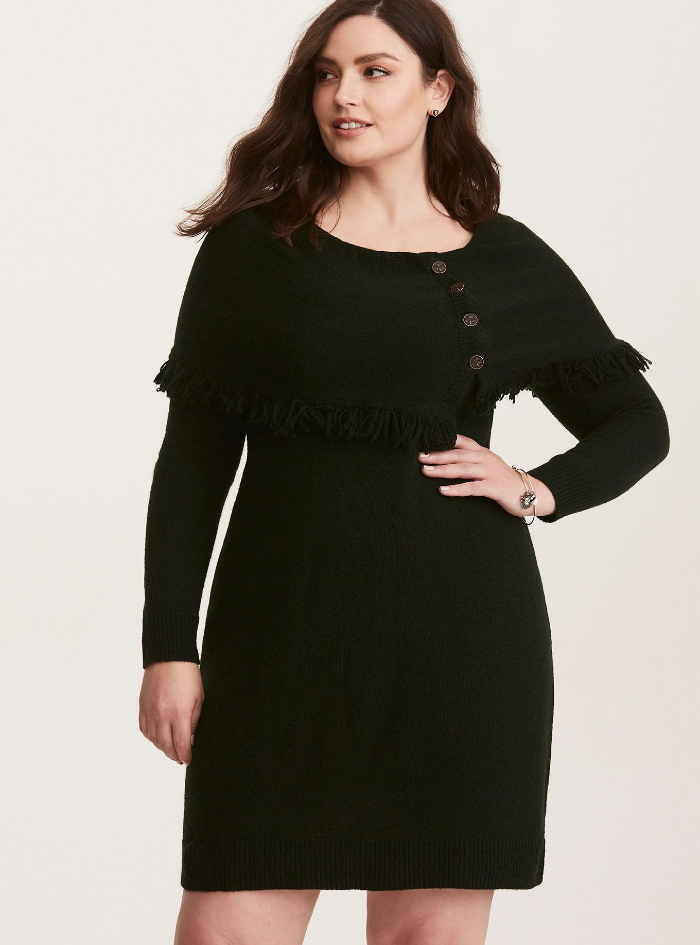 8d8dbb427 This oversize cozy knit sweater dress keeps you snuggled up