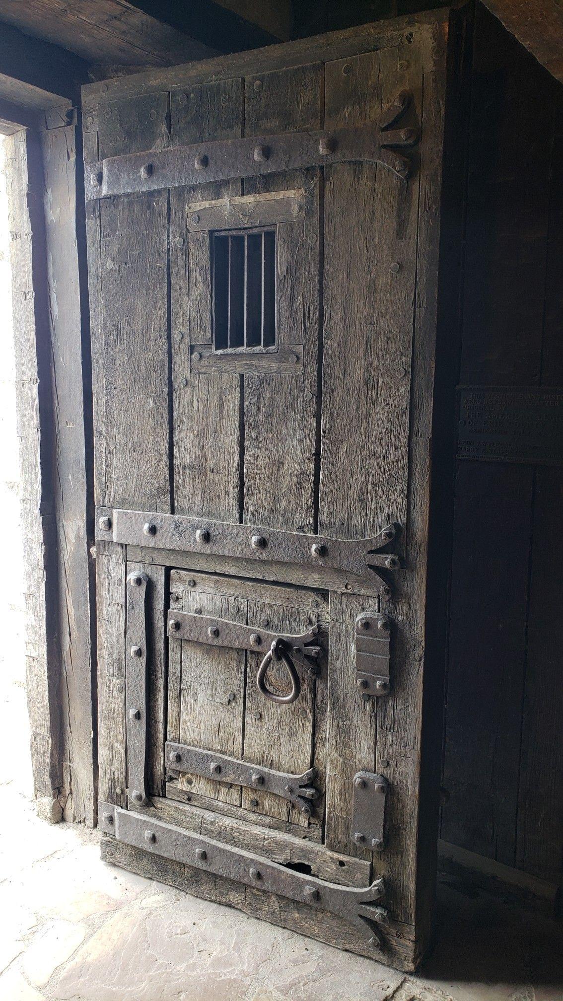 Old Fort Niagara Barracks Door Circa 1750 Rustic Doors Wood