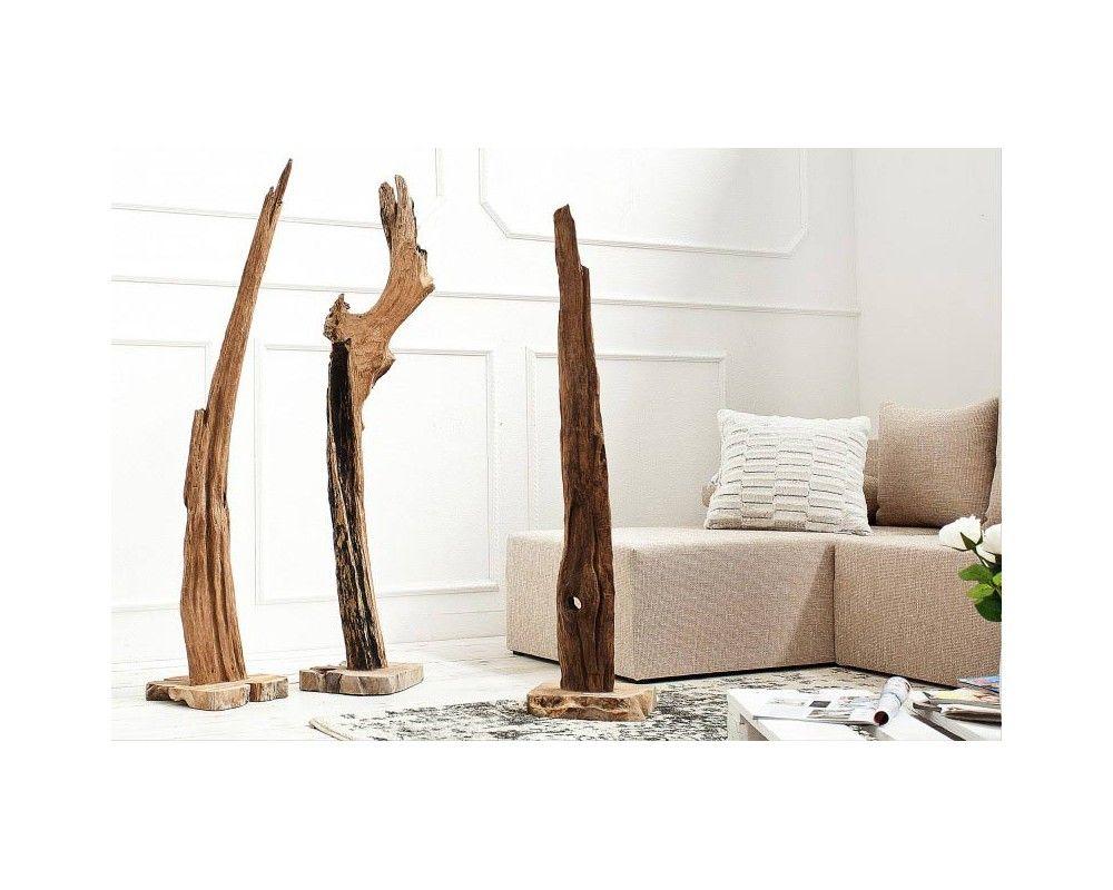Sculpture design en bois flotté 125 cm | Salons