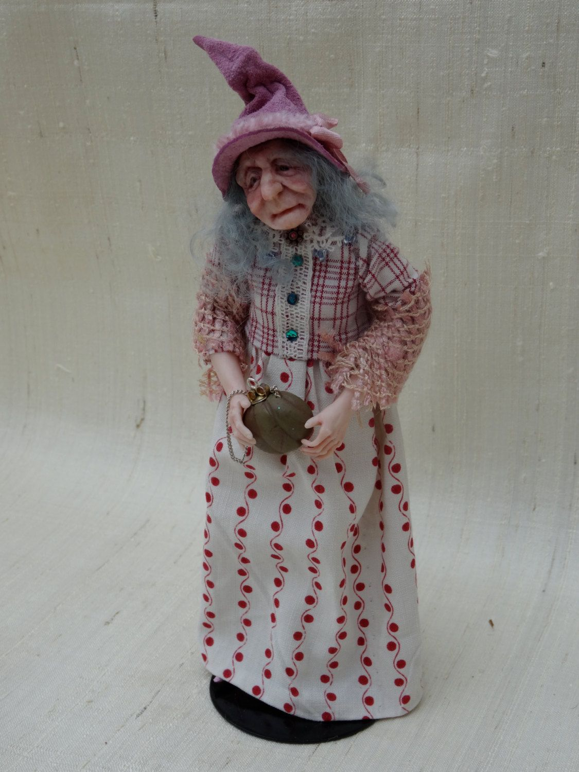 Hetty 12th scale miniature witch by The Giddy by giddykipper95