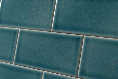Crackle Glaze Greenwich Park Subway Wall Tiles 7 5x15cm Wanden Tegels Baksteen