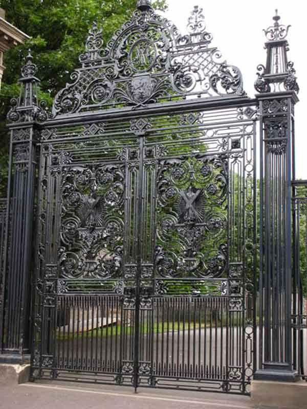 Historically Inspired Gates Historic Designs Built In Original