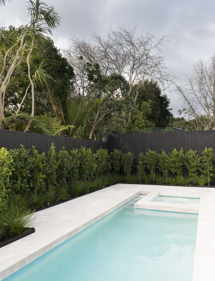Tireless Attention Detail Resulted In This Villa Transformation Pool Landscape Design Swimming Pools Backyard Tropical Pool Landscaping