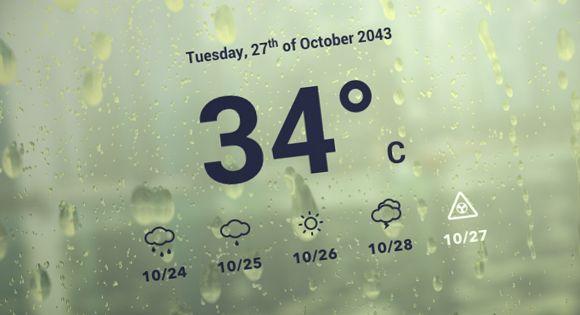 Rain & Water Effect Experiments | web | Water effect, Web ui design