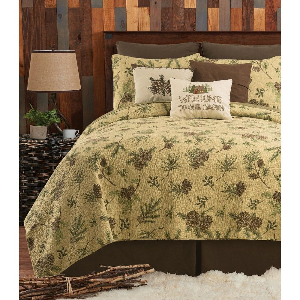 C&F Home Woodland Retreat Twin 2 Piece Quilt Set