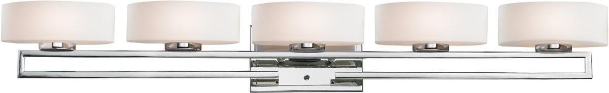 """0-018523>41""""""""w Cetynia 5-Light Bath Vanity Chrome"""