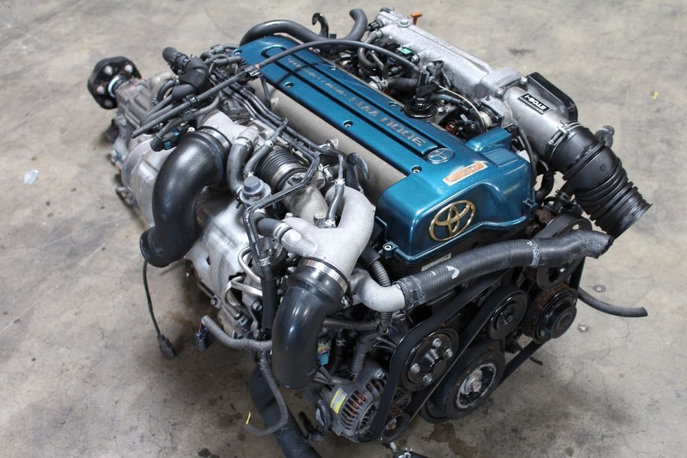 Details about JDM Toyota Aristo Twin Turbo Engine 2JZGTE