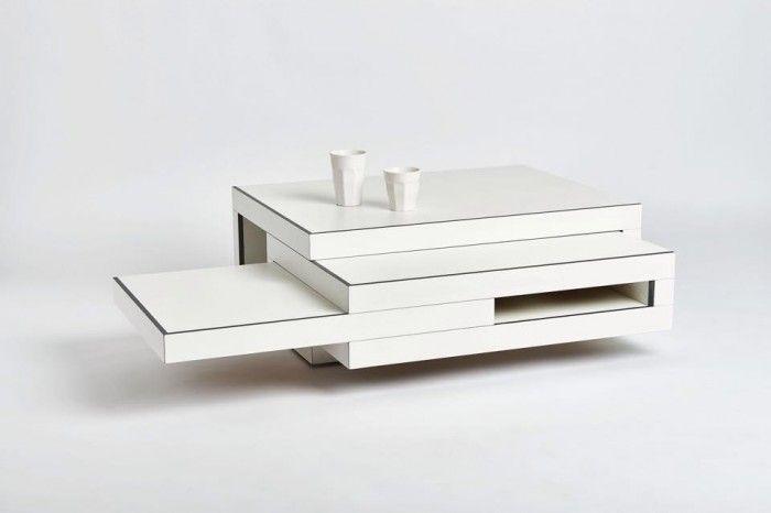 white coffee table Reinier de Jong – Design Studio