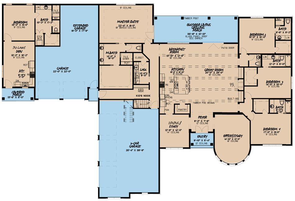 Men 5082 Main Floor Plan French Country House Plans French Country House Country House Plan