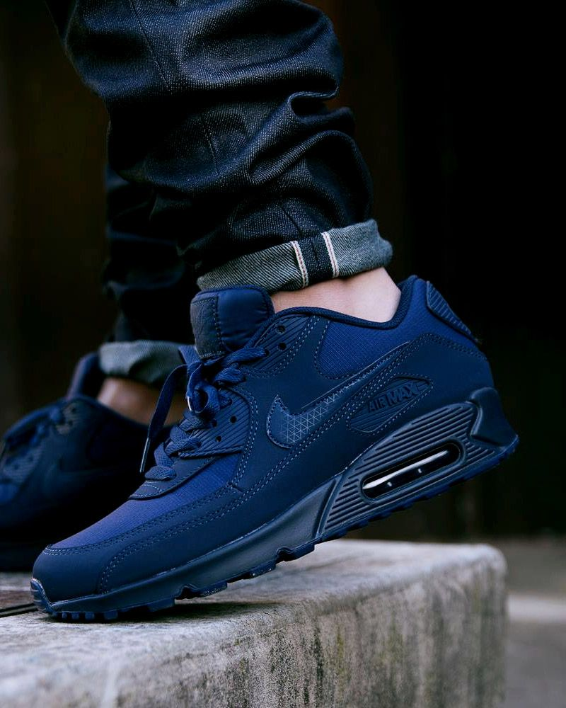 official photos 78189 70c29 NIKE Air Max × Dark Navy Jeans | Shoes | Sneakers nike, Nike Air Max ...