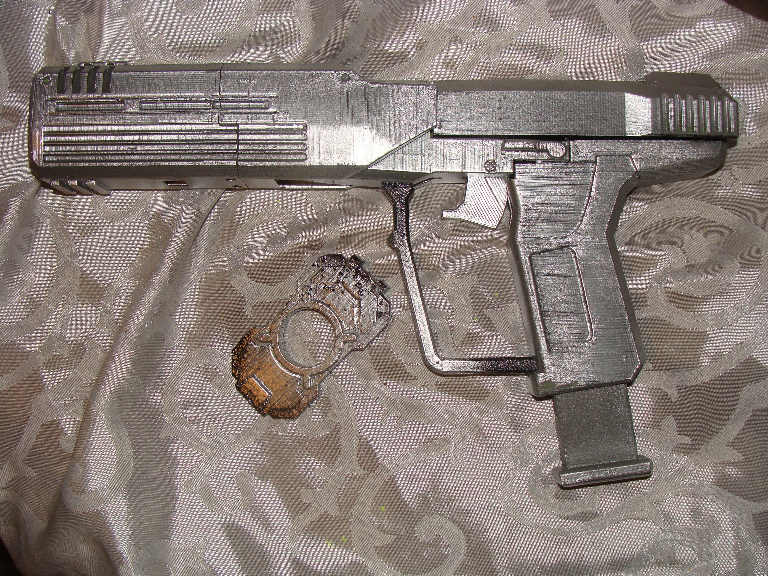 Color printing el paso tx - Print Odst Silencer Halo Magnum Pistol Gun Life Size Cosplay Toy Prop Nerf By Dusty Plastics In El Paso Tx Painted By Leslie S Chance Toys