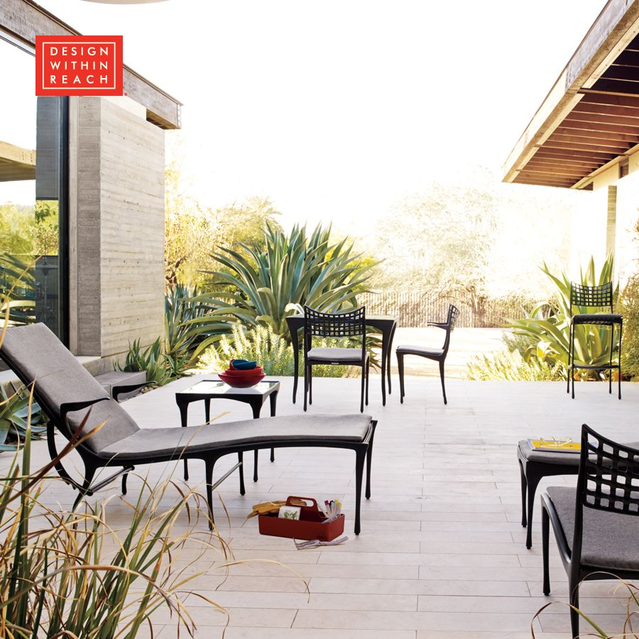 Patios · Sol y Luna Outdoor Collection - Design Within Reach - Sol Y Luna Outdoor Collection - Design Within Reach Outdoor Living