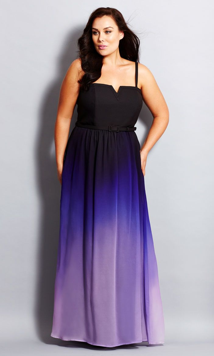 City Chic Ombre Lust Maxi Dress - Women s Plus Size Fashion - City Chic  Your Leading Plus Size Fashion Destination  citychic  citychiconline   newarrivals ... 85f2bbb78eec