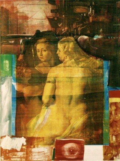 Robert Rauschenberg, 'Persimmon',1964