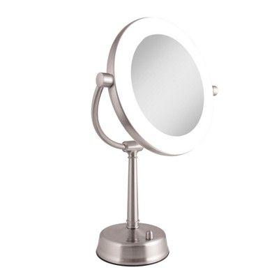 Zadro Fluorescent Lighted Mirror Adjustable Infinity