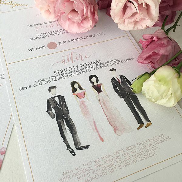 Formal Attire On Wedding Invitation: What's Inside A Wedding Invitation?