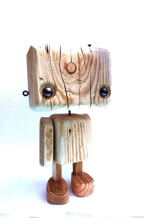 Al Robot Reciclada En DesnudoManualidades Madera WI9DHE2