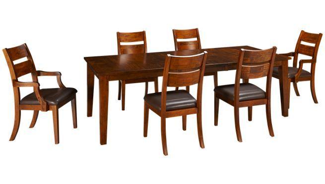 Klaussner Urban Craft 7 Piece Dining Set Jordan S Furniture