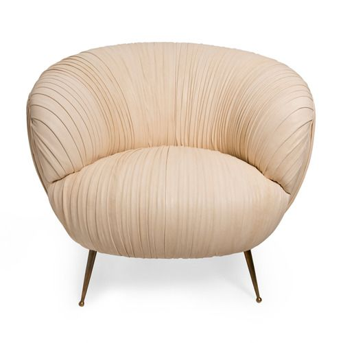 Souffle Chair Ruched Kelly Wearstler Chair Luxury
