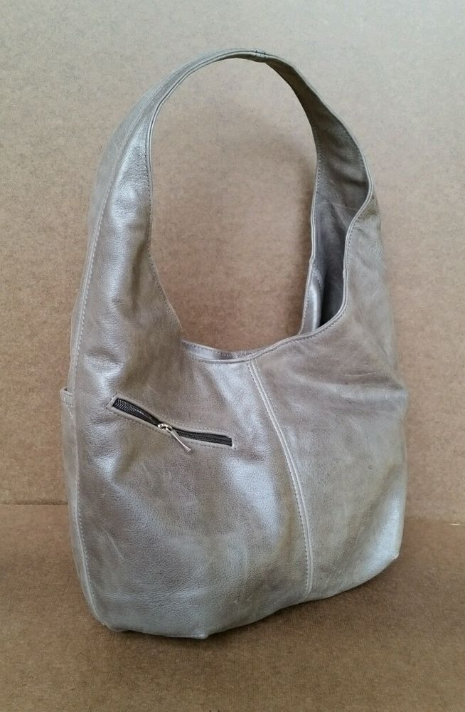 All Saints brown leather reptile rally bowling bag in 2021