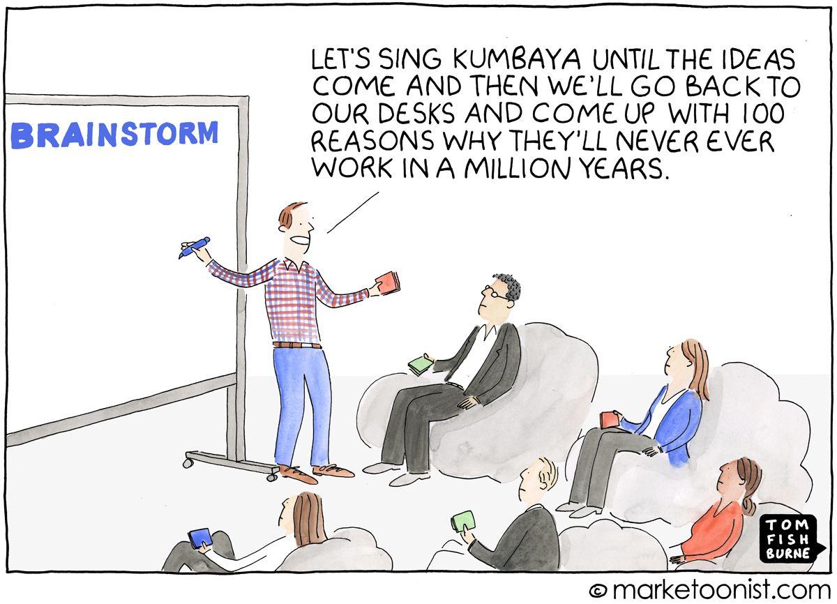 Culture Of Innovation Cartoon