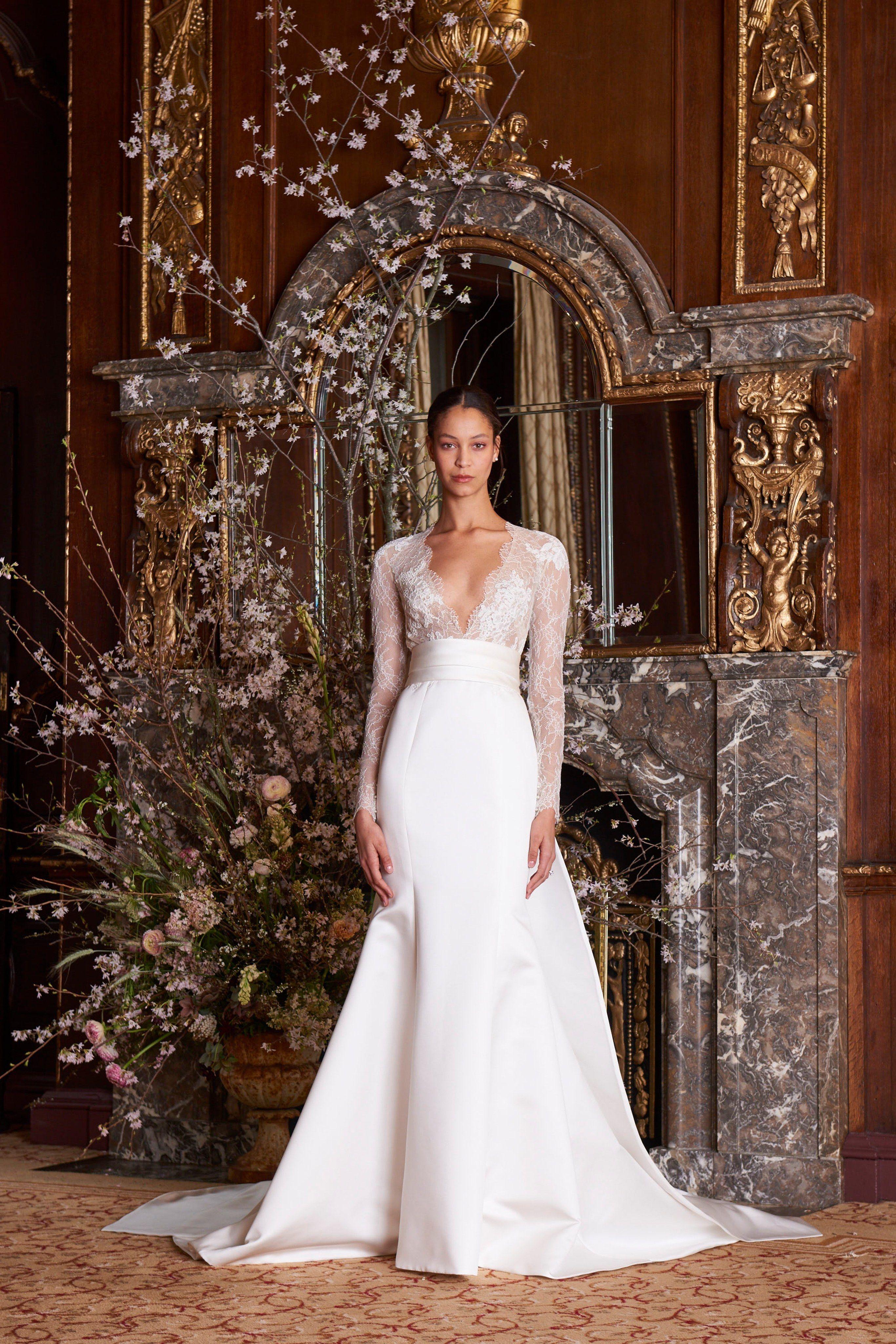 Vestidos de novia monique lhuillier un deleite sohaute art