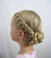 #Easy #Einfache #Frisuren #für #hochstec #Kinder