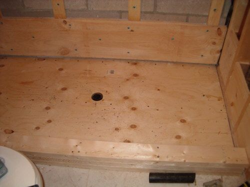 Building A Shower Floor Pan This Looks Involved DIY - Diy bathroom shower flooring ideas