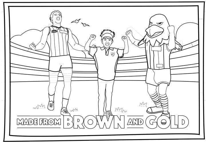 afl colouring pages - Google Search | Library Alphabet | Pinterest ...