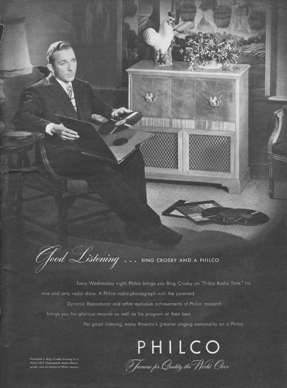 Pin by J.E. Hart on Vintage Celebrity Ads in 2019 Bing