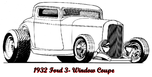 1932 ford coupe coloring