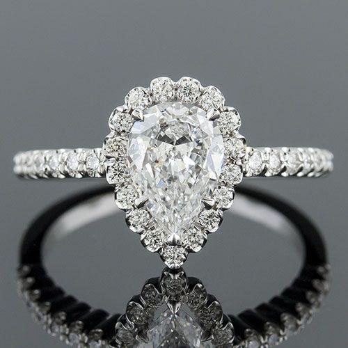 1158FP 1 Vintage Inspired Fishtail Set Diamond Platinum Semi Mount Engagement Ring Setting For
