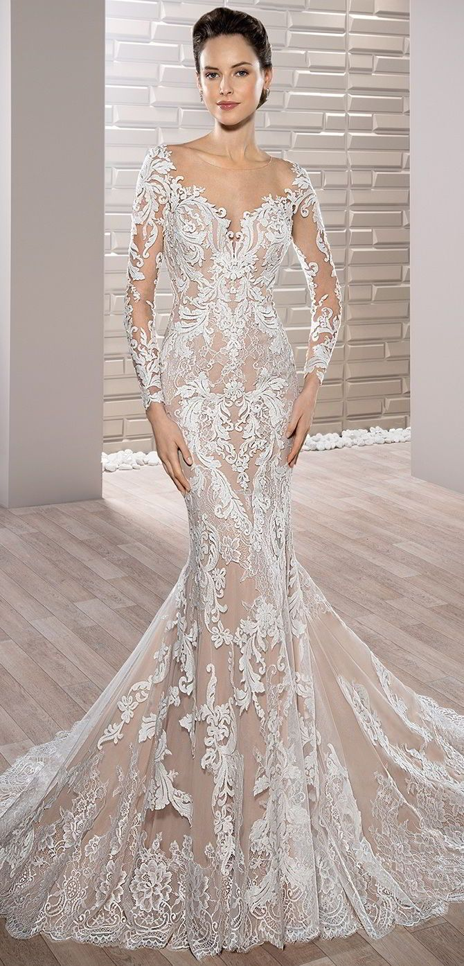 Demetrios 2017 Wedding Dresses   Fit & Flare Wedding Dresses ...