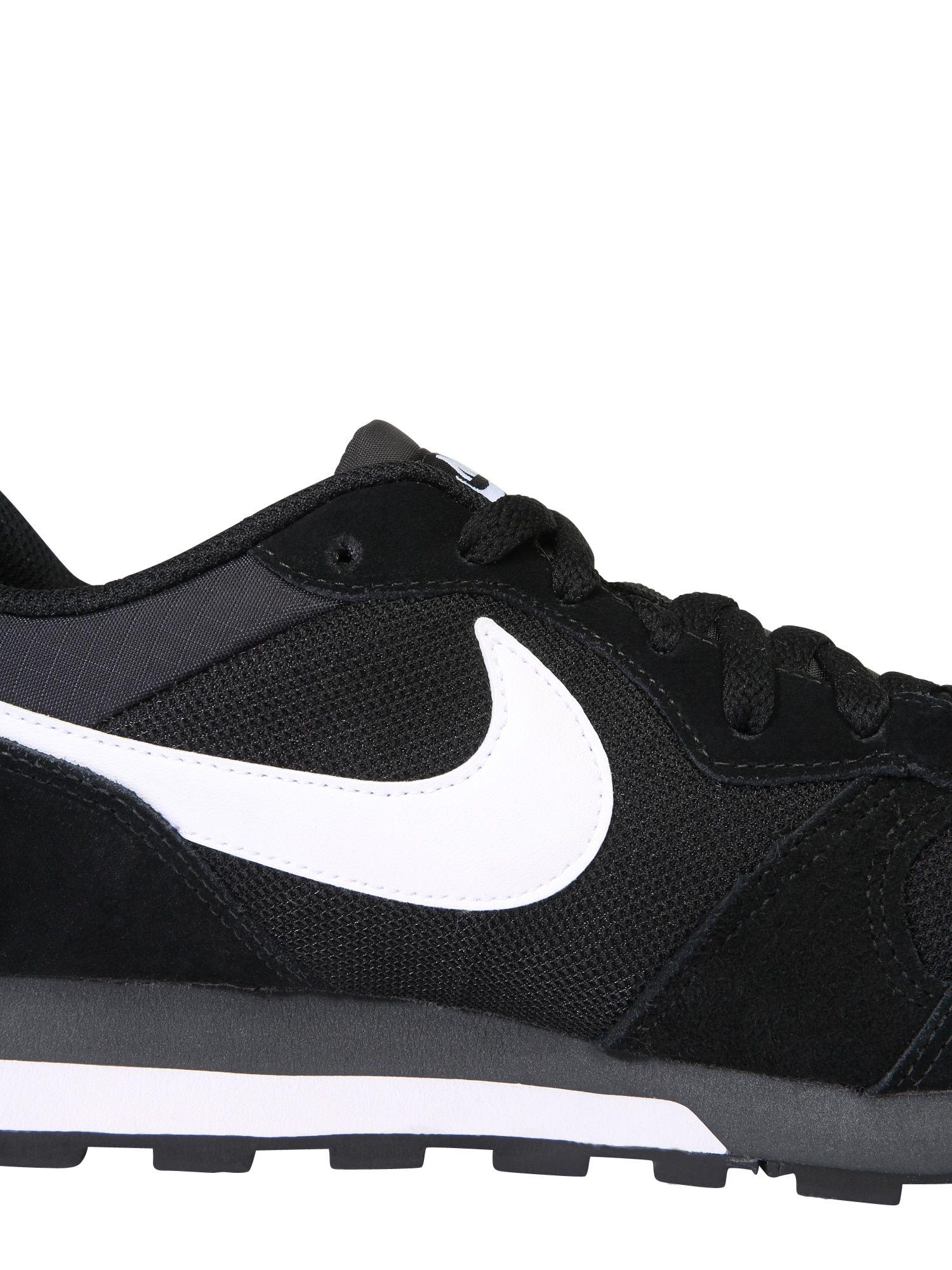 Nike Sportswear Sneaker 'Runner 2' Herren, Schwarz Weiß
