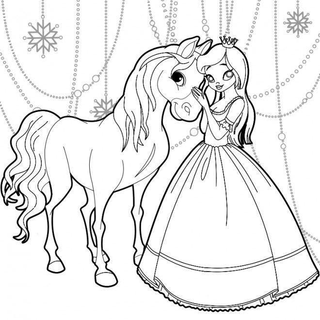 étourdissant  Mot-Clé Coloriage Reine des Neiges à colorier gratuit