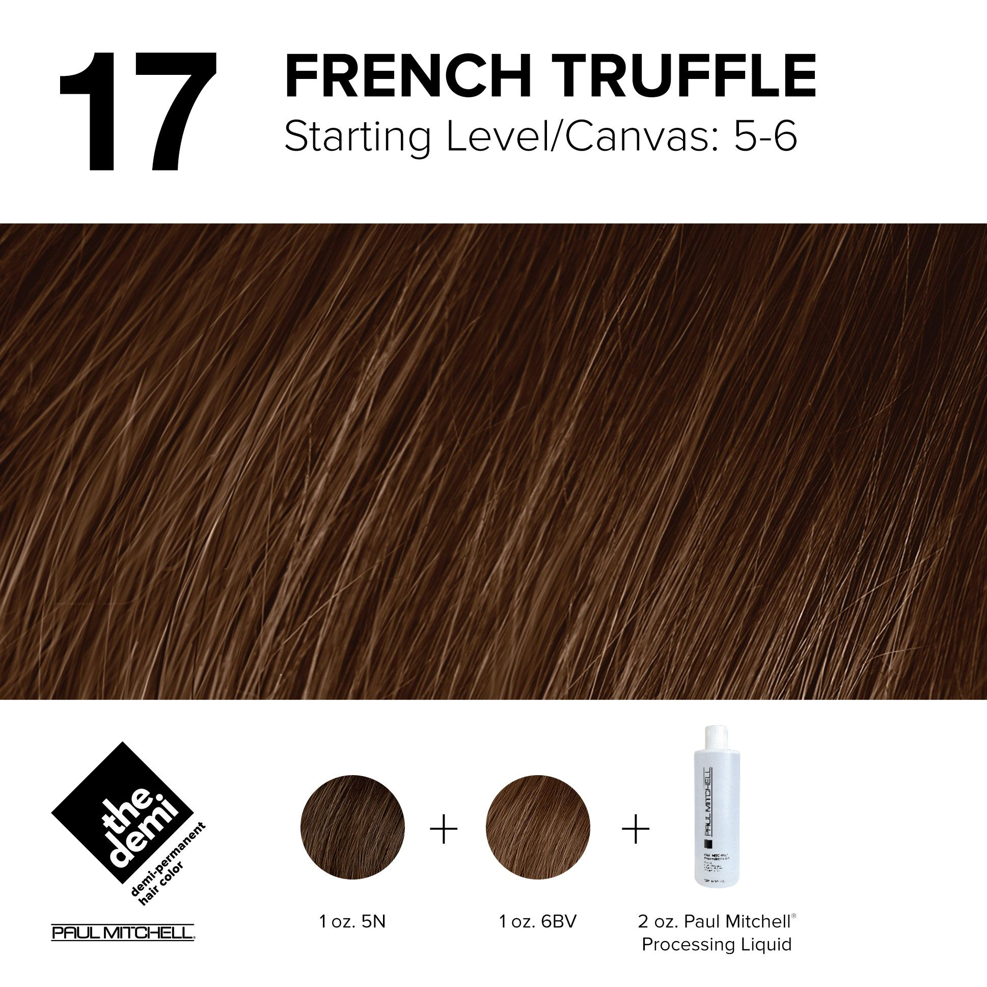17 French Truffle Paul Mitchell Color Paul Mitchell Color Chart