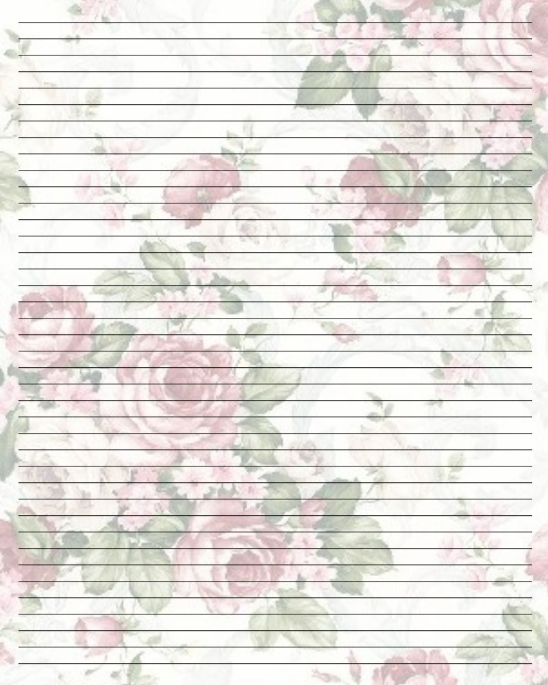 printable writing paper with borders and lines | *stationery