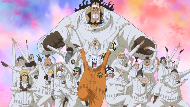 The Heart Pirates Members All 20 One Piece Anime One Piece One Piece Anime