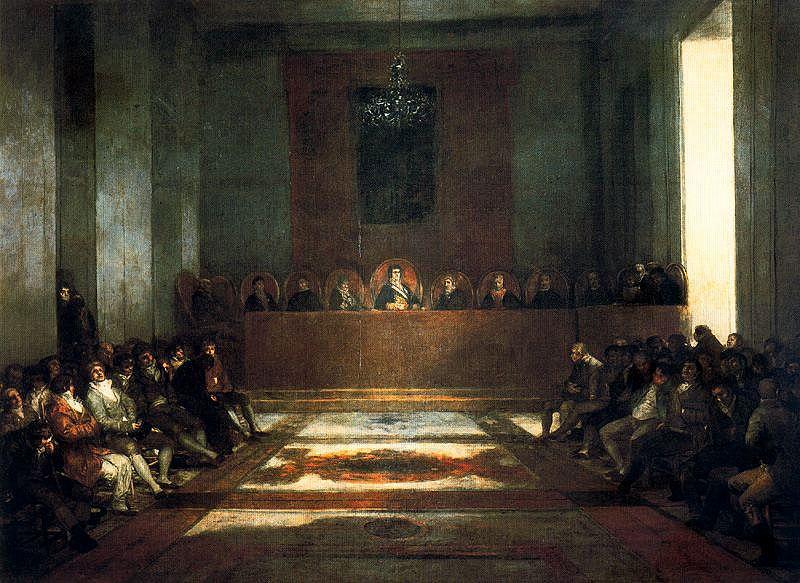 Francisco de Goya - La Junta de Filipinas
