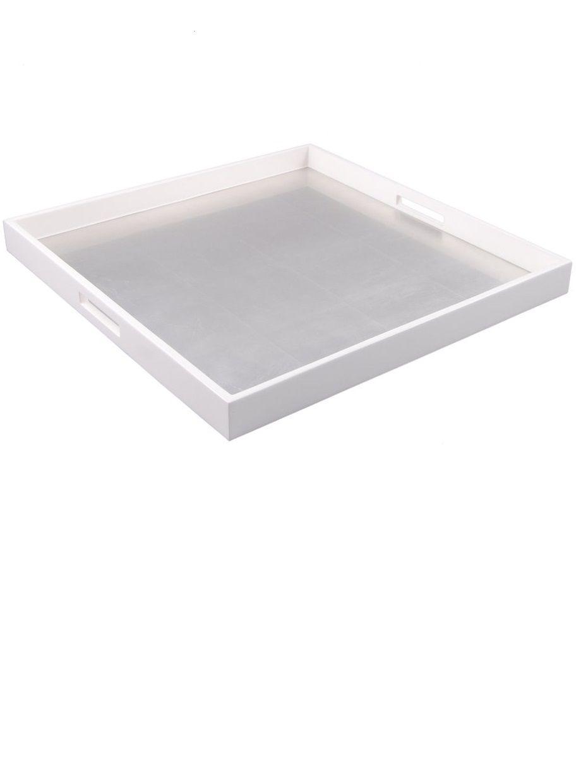 White Trays Coffee Table Tray Ottoman