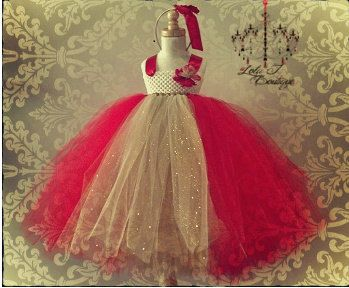 READY TO SHIP Golden Apple Tutu Dress and by LolaJBoutique on Etsy